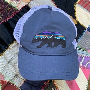 Patagonia Jackson Hole, Wyoming Bear Trucker Hat